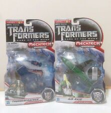 TransFormers Movie MechTech Thundercracker Air Raid Jet Plane Lot DOTM G1 MOSC