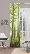 Panneau japonais Rideau Forêt de nuages 86317-768 Forêt Arbres Vert 60x245 cm