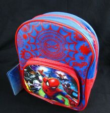 "Spider Man Mini 10"" Backpack Coloring Activity Set Fun Pack Watercolors Marvel"