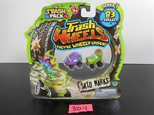 NEW & SEALED!! TRASH PACK TRASH WHEELS ~ SKID MARKS ~ 2 PACK! SERIES 1 30-1