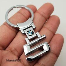BMW 5 Serie Metal Llavero Llavero Keyfob Colgante