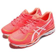 Asics Gel-Kayano 23 D Wide Pink White Women Running Shoes Sneakers T697N-2001