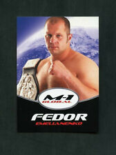 Fedor Emelianenko M-1 Global Affliction Rare Promotional MMA Card