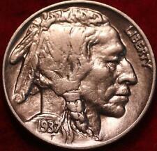 1937 Philadelphia Mint Buffalo Nickel