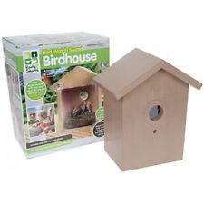 Birdhouse Feeder Wooden Secret Garden Bird Watch Birds House Box Nest Nesting