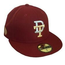 Durham Bulls Tobacconists Throwback New Era 5950 Cap Hat NWT 7 1/4