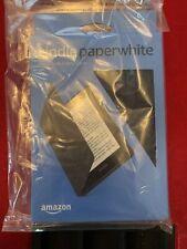 Kindle Paperwhite Water-Safe Fabric Cover (10th Generation-2018) Charcoal New
