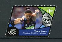 New Zealand 2016 MNH Rio Silver Medal Valerie Adams Shot Put 1v Olympics Stamps
