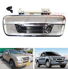 HOLDEN RODEO RA SERIES UTE CHROME TAILGATE HANDLE TAIL GATE NO KEYHOLE 03 04 05