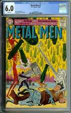 METAL MEN #1 CGC 6.0 WHITE PAGES // ROSS ANDRU COVER ART 1ST ISSUE 1963