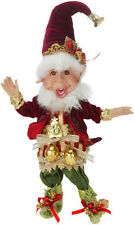 """Mark Roberts Six Geese a Laying Elf, Sm 11"""" - New - Free Shipping"""