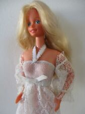 Pretty Pale blonde Vintage 1980s Superstar Barbie doll Philippines