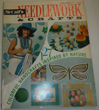 Needlework & Crafts Magazine Colorful Handcrafts Inspired Spring 1971 123014R
