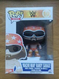 macho man randy savage - funko pop boxed wwe wwf