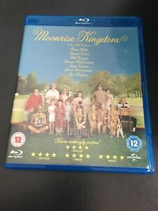 MOONRISE KINGDOM BLU RAY - BRUCE WILLIS ED NORTON MINT DISC FREEPOST