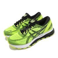 Asics Gel-Nimbus 21 Safety Yellow Black Mens Running Shoe FlyteFoam 1011A169-750