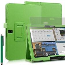 "Plegable Funda Tablet Para Samsung Galaxy Note Pro T520 Verde 10,1"" + Pin +"