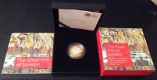 2016 The Great Fire Of London UK  £2 Silver Proof Piedfort Coin Ltd Ed #81/3500