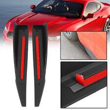 2x Side Skirt Splitter Winglet Wing Rocker Diffuser For 2015-2017 Ford Mustang