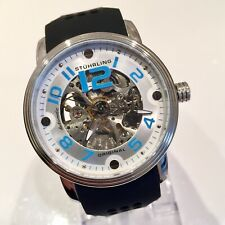 Stuhrling Original Legacy Automatic Skeleton Men's Dress Watch / RRP £220 / Rare