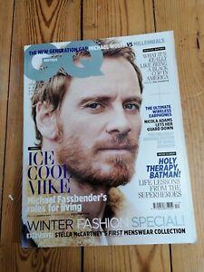 British GQ Magazine - December 2016 (Michael Fassbender)