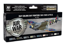 VALLEJO 71161 RAF Colors Day Fighters 1941-1945 PRU Model Air 8 Colors FREE SHIP