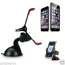 360 Degree Rotating Car Windshield Mount Phone Holder for Samsung Galaxy S6 Edge