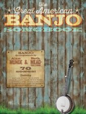 The Great American Banjo Songbook Sheet Music 70 Songs Banjo Book NEW 000156862