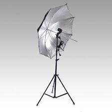 New Photography Photo Studio Light Bulb Backdrop Stand Umbrella Flash Mount Set