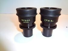 NIKON CFW8X PAIRED WIDEFIELD 8X EYEPIECES ** NICE look new**