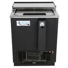 "Avantco Hbb-25-Hc 25"" Black Horizontal Bottle Cooler"