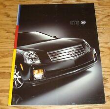 Original 2006 Cadillac CTS Deluxe Sales Brochure 06