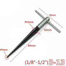 T Tapered Taper Hand Held Reamer Hole Pipe Reaming Tool Favor 3.18-12.7mm WE9X