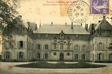Carte Château de PRESSY SOUS DONDIN Face Nord