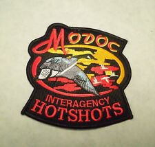Modoc Interagency Hotshots Canadian Geese Iron On Patch
