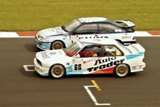 PHOTO  FORD SIERRA COSWORTH RS500 OF THOMAS/LOCKIE AND THE 3RD PLACE BMW M3 E30