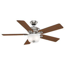 Casablanca Utopian Antique 52 Inch Indoor Ceiling Fan w/ Light & Wall Control