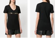 Pierre Balmain Iconic Cult Skirt Logo Brand Shirt T-Shirt Top Blouse 38 M