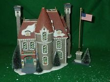 Dept 56 58951 The Consulate Christmas In The City used in box