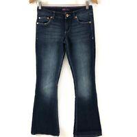 Levis Kids' Girl's Skinny Flare Denim Jeans Blue Stretch Size 14
