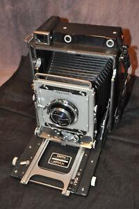 Graflex Crown Graphic 4x5 with Schneider 135mm F4.7 Excellent