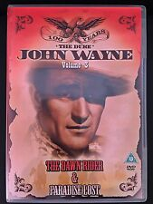 DVD John Wayne the Duke Vol 3-The Dawn Rider & Paradise Lost - New !!!