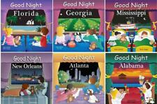 GOOD NIGHT SOUTHERN USA Geographical Bedtime Boardbook Series by Adam Gamble 1-6