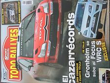 MAGAZINE TODO RALLYES  N°88 RALLY WRC 2008 CITROEN LOEB ANNEE 2008 98 PAGES