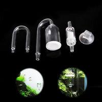 Aquarium CO2 Diffusor Glas Kohlendioxid Reaktor Rückschlagventil Pflanze Fisch 4