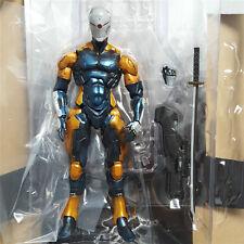 NEW Play Arts Kai Metal Gear Solid Cyborg Ninja Gray Fox Action Figure Gift