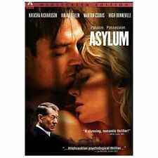 ASYLUM dvd NEW/SEALED Natasha Richardson/Ian McKellen/Hugh Bonneville Widescreen