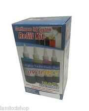 Refill ink Kit for CIS Bulk system HP10 HP11 cartridge
