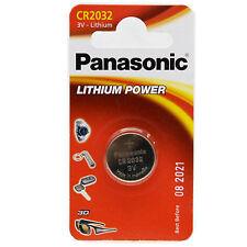 50x CR2032 * PANASONIC * BATTERIEN LITHIUM CR 2032 * LITHIUM KNOPFZELLEN