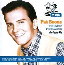 Friendly Persuasion: His Greatest Hits Pat Boone (CD, Jun-2013, 2 Discs, Dyn o4a